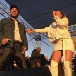 Kendrick Lamar & Rihanna at TDE 4th Annual Concert