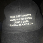 Kids See Ghosts Listening Party