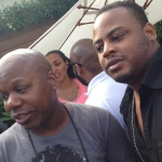 Too Short and Music Executive Darnell Hodges  at Roosevelt Hotel Pool Party