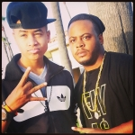 Music Executive Darnell Hodges  With YMCMB Artist Torion